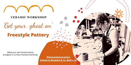 Freestyle pottery workshop tickets