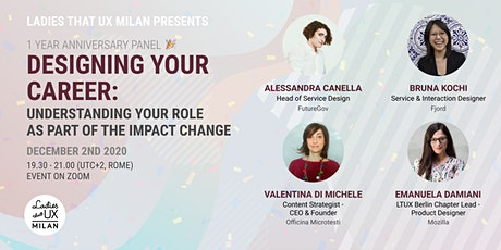 Designing your career: understanding your role as part of the impact change tickets