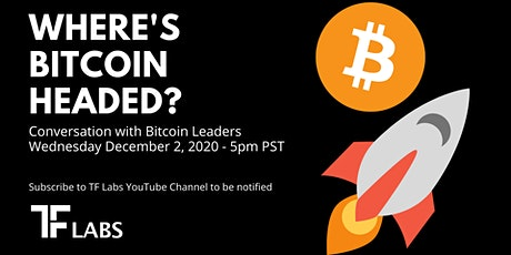 Where's Bitcoin Headed? | Conversation with leaders in Bitcoin Tickets
