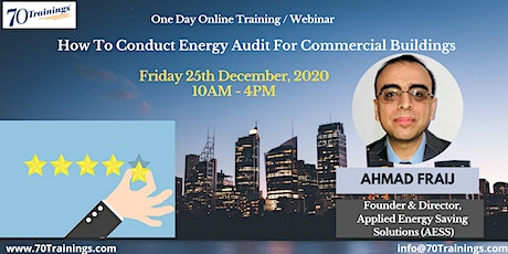How To Conduct Energy Audit For Commercial Buildings in Hastings (Webinar) tickets