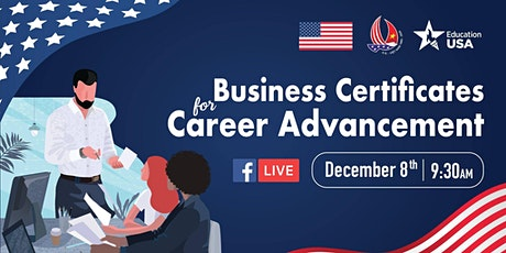 Business Certificates for Career Advancement tickets