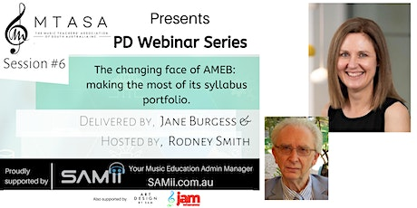The changing face of AMEB: making the most of its syllabus portfolio tickets