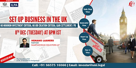 FREE Webinar: Start a business in UK with no investment tickets