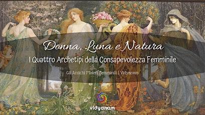 Singolo Incontro - Donna, Luna, Natura biglietti