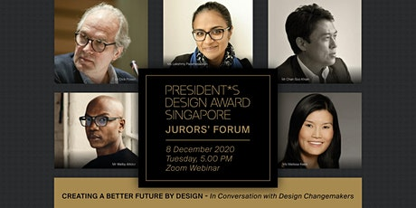 P*DA 2020 Jurors' Forum - Creating a Better Future by Design tickets