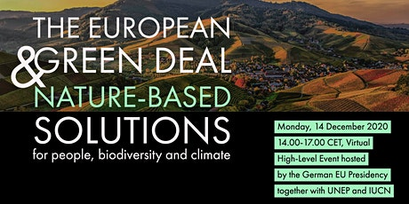 The European Green Deal & Nature-based Solutions tickets