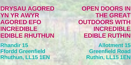Open Doors in the Great Outdoors / Drysau Agored yn yr Awyr Agored tickets