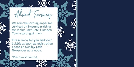 Advent Service | In-Person tickets