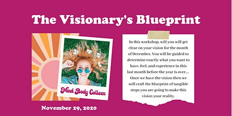 The Visionary's Blueprint tickets
