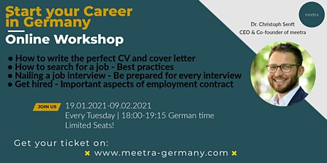 Start your career in Germany: Workshop with an HR specialist