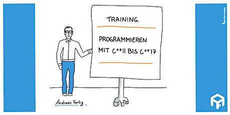 Programmieren mit C++11 bis C++17 tickets