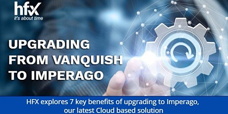 Upgrading from Vanquish to Imperago tickets