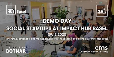 Social Startups at Impact Hub Basel — Demo Day tickets