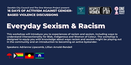 Everyday Sexism & Racism tickets