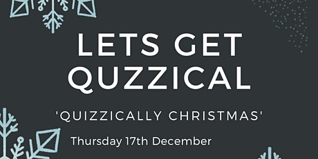 Let's Get Quizzical – Quizzically Christmas tickets