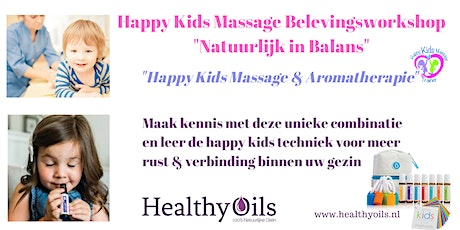 Happy Kids Massage Belevingsworkshop tickets