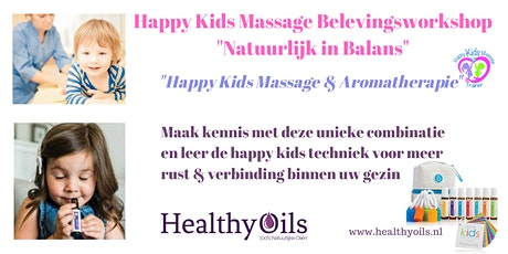 Happy Kids Massage Belevingsworkshop tickets