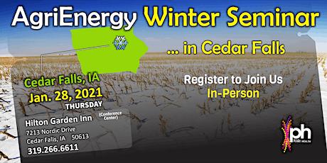CEDAR FALLS... Winter Seminar tickets