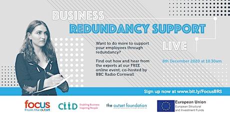Business Redundancy Support Live tickets