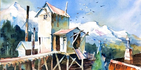 Watercolours: painting negative shapes with Randy Hale tickets