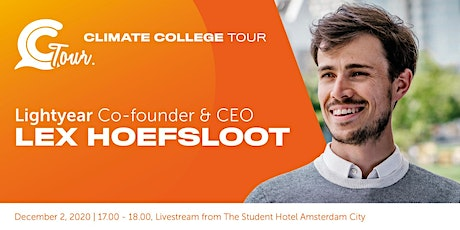 Climate College Tour  with Lex Hoefsloot - Lightyear tickets