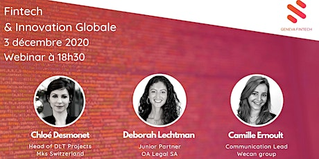 Fintech & Innovation globale (online event) billets