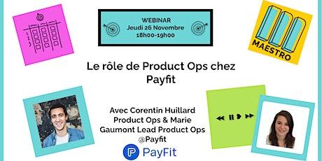 Le rôle de Product Ops chez Payfit tickets
