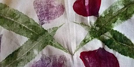 Leaf Printing Workshop with Diana Wallace biglietti