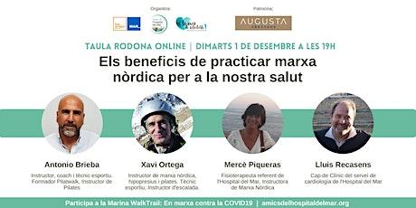 ELS BENEFICIS DE PRACTICAR MARXA NÒRDICA PER LA NOSTRA SALUT tickets