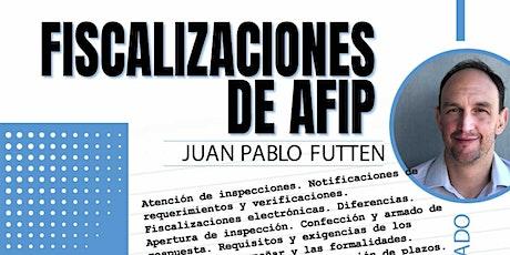 Grabación - Fiscalizaciones de AFIP entradas