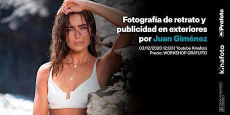 Workshop Juan Giménez: Fotografía de retrato y publicidad en exteriores boletos