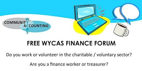WYCAS Wakefield Finance Forum Online tickets