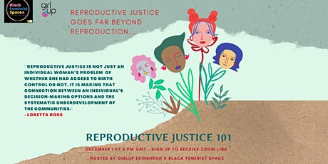 Reproductive Justice 101 tickets