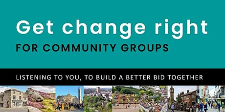 Get change right - VCS workshop on York & North Yorkshire local gov review tickets