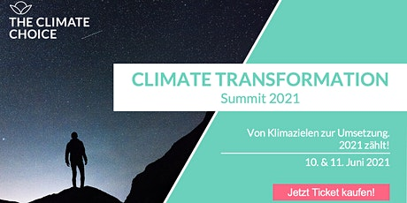 CLIMATE TRANSFORMATION Summit 2021 Tickets