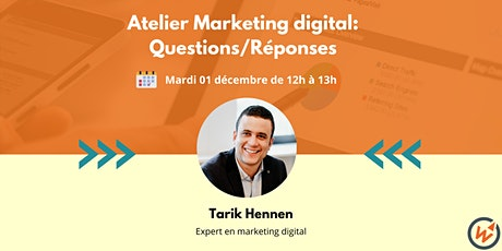 Atelier marketing digital de Wikipreneurs: Questions/Réponses billets
