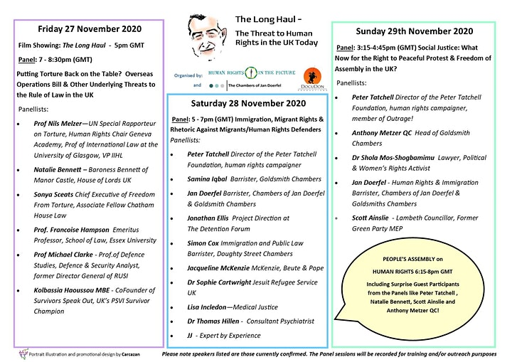 The Long Haul - The Threat to Human Rights in the UK Today image