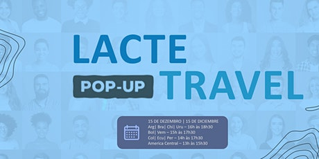 LACTE POP-UP TRAVEL bilhetes