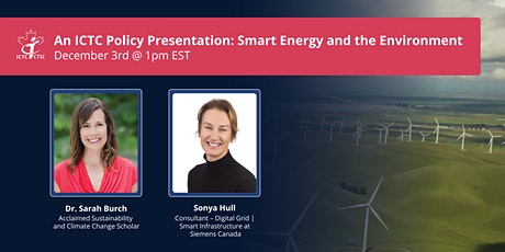 An ICTC Policy Presentation: Smart Energy & the Environment tickets