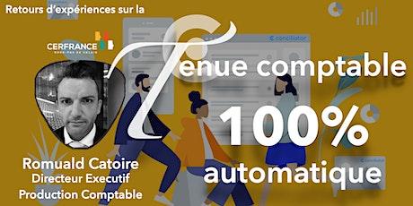 100% de la tenue comptable en automatique : retour d'expérience  CERFRANCE billets