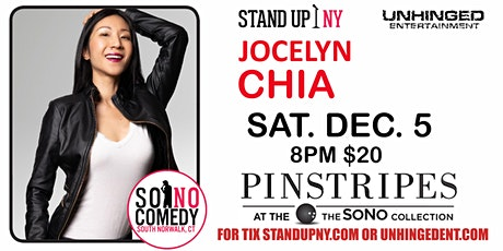 Unhinged Comedy presents: Jocelyn Chia tickets