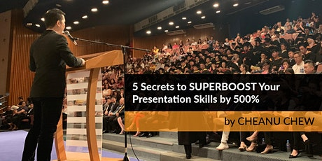 [REPLAY] 5 Secrets to SUPERBOOST Your Presentation Skills by 500% tickets