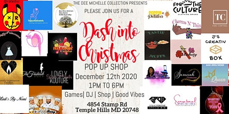 Dash into Christmas Pop Up Shop tickets