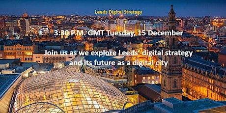 Digital Leeds - reframing the city's future tickets