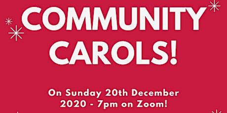 Community Carols tickets