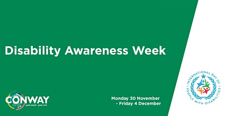 Disability Awareness Week tickets