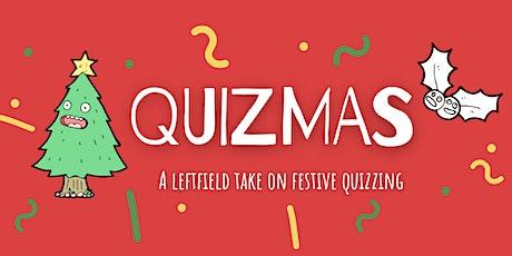 Quizmas Party - a leftfield festive Zoom quiz tickets