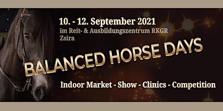 BALANCED HORSE DAYS Tickets