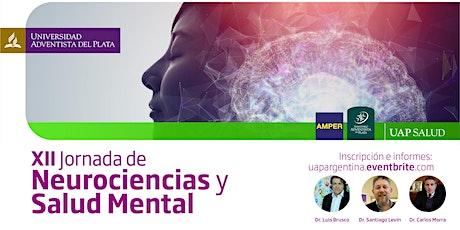XII Jornada de Neurociencia y Salud Mental entradas