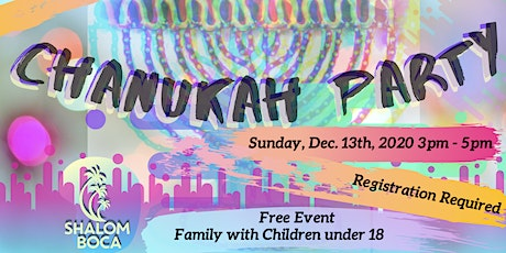 Chanukah Party 5781 tickets